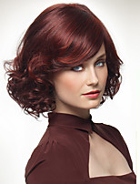 The European And American Fashion Wine Red Hair Wigs