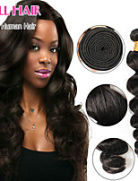Peruvian Virgin Hair Loose Wave Jet Black Human Hair Weave 100g Bundles  Peruvian Loose Wave Curl