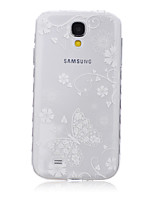 Para Samsung Galaxy Capinhas Transparente / Estampada Capinha Capa Traseira Capinha Borboleta TPU SamsungS6 edge plus / S6 edge / S6 / S5