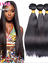 Top quality peruvian hair 1 pcs Lot 6A peruvian Wholesale straight human hair