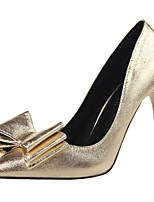 Women's Shoes Stiletto Heel Heels / Pointed Toe Heels Casual Black / Silver / Gold