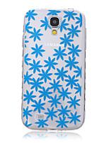 couro TPU flor cartão de aleta material para Samsung Galaxy S3 / s3mini / S4 / s4mini / S5 / s5mini / S6 / s6edge / s6edge +