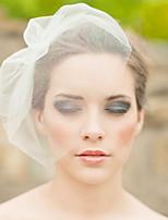 Net Vrouwen Helm Bruiloft / Speciale gelegenheden Net Sluier Bruiloft / Speciale gelegenheden 1 Stuk