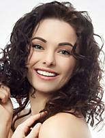 12inch Spitzefronthaarperücken malaysisches reines Haar 100% Menschenhaarspitzefrontwellenförmige Art Perücken für Frauen