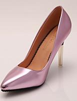 Women's Shoes Stiletto Heel Heels / Pointed Toe Heels Wedding / Dress / Casual Pink / Silver / Gold