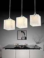 Lampe suspendue - Contemporain - avec Ampoule incluse - Verre