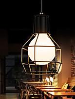 Lampe suspendue - Rétro - avec LED - Métal