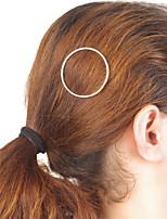 Femme Alliage Casque-Occasion spéciale / Décontracté / Extérieur Barrette / Pique cheveux / Epingle à Cheveux 1 Pièce Or Irrégulier 7