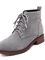 Zapatos de mujer - Tacón Plano - Botas Anfibias / Cowboy / Botas de Nieve / Botines / Botas de Equitación - Botas -Exterior / Oficina y