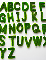The Simulation Moss Letters PU Plants Artificial Flowers