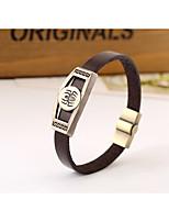 Bracelet Bracelet Rond Alliage Sans pierre Unisexe / Amoureux