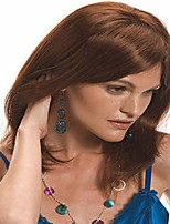 Color Brown  Syntheic Wave Wigs  In Stock Sublimate Lady Women Wig