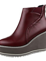 Women's Shoes Wedge Heel Wedges / Platform / Pointed Toe / Closed Toe Boots Casual More Colors Available