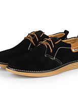 Men's Shoes Casual Oxfords Black / Yellow / Green