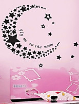 Beautiful The Stars And The Moon Children Wall Decor