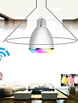 APP RGB  LED Wireless Bluetooth Speaker Bulb Audio Speaker Music Playing & Lighting With APP E27