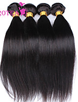 4kpl paljon Perun neitsyt hiukset suoraan 100% ihmisen hiusten pidennykset protea hiustuotteita