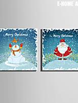 Vacanze Print Canvas Due pannelli Pronto da appendere , Quadrato