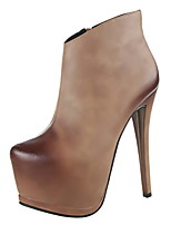 Women's Shoes Stiletto Heel Heels / Platform / Pointed Toe / Closed Toe Boots Dress / Casual More Colors Available