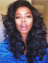 Stock Full Lace Wigs Big Curly Indian Virgin Human Hair Wigs For Black Women