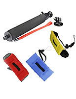 GOPRO Accessories Monopole Self-rod + 3 Floating Strap for Go pro Hero 12345 Sj4000 Sj5000 Sj6000 Sj7000 Xiaomi Yi
