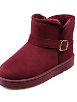 Women's Shoes Fabric Flat Heel Snow Boots Boots Outdoor Four Color Available