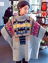 Pullover Da donna Senza maniche Vintage Altro Medio spessore