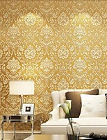 New Rainbow™Floral Wallpaper Contemporary Wall Covering , Non-woven Paper European Damascus 3D