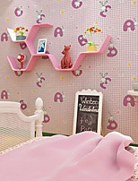 Home Decor Art Cartoon Animals Wallpaper Classical Country Wall Covering  PVC Wall Paper  10*0.45 M