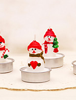 Christmas Candle for Wedding Birthday Confession Party Gift(4pcs/set)
