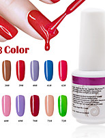 1pcs 9ml uv gel cor fototerapia cola prego polish37 # -42 # 67 # -72 #