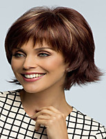 Honest Price High Quality  European Lady Women Wig Syntheic  Wigs Lovely  Color