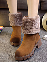 Women's Shoes Antiskid Thicken Chunky Heel Comfort / Round Toe Boots Dress / Casual