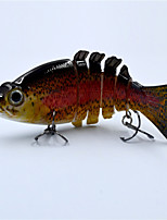 10.5 CM 20.5 G Multi-Jointed 6 Sections Fishing Lure Crank Bait Swim Bait Bass Fishing