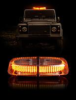 Vehicle Roof Top Emergency Hazard Warning Strobe Light Lamp 240 LED Yellow