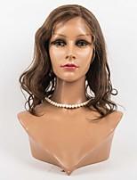 brazilian vierge perruques de cheveux de vague de corps glueless lace front perruques quatre couleurs avalibale
