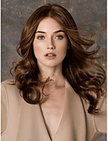 Top Quality Europe And America Women From Stock Brown Syntheic  Wig Extensions