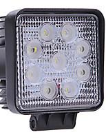 White 9 LED High Power Fog Backup Car Truck Light Lamp Bulb 27W Waterproof