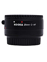 KOOKA KK-C25P Nilon Plastic Macro AF 25mm Extension Tube for Canon EF&EF-S SLR Cameras