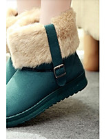 Women's Shoes Leisure All Match Low Heel Comfort / Round Toe Snow Boots