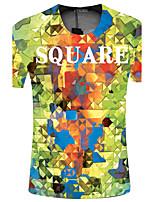 CliffWalker Men quick-drying 3 d digital printing round collar short sleeve T-shirt