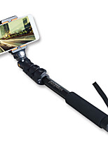 aluminium monopode extensible selfie bâton de sinnfoto avec support de téléphone pour Smartphone