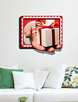 3D Wall Stickers Wall Decals, Christmas Gift Decor Mural PVC Wall Stickers