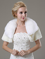 Wedding / Party/Evening / Casual Faux Fur Shrugs Short Sleeve Fur Coats
