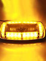 vehículo azotea amarilla 24 llevó luz estroboscópica de advertencia base magnética lámpara de luz de emergencia