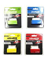 nitroobd2 diesel rojo / bencina ecoobd2 verde / rojo nitroobd2 diésel / gasolina nitroobd2 cuadro de adaptación de la viruta amarilla