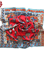 Women's Senior Silk Party Scarf(Size:110cmX110cm)SF011