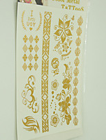 10/PCS Hot Sale Color-Changing Tattoo Handsome Multi-Style Temporary Tattoo For Fashion WST-203