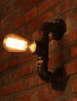 Candelabro de pared Mini Estilo Rústico/ Campestre Metal