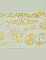 10/PCS Hot Sale Color-Changing Tattoo Handsome Multi-Style Temporary Tattoo For Fashion WST-206